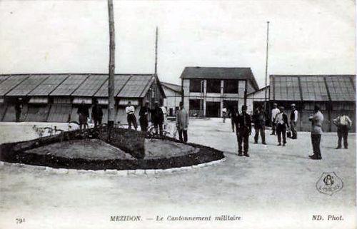 CANON - Les ateliers SNCF (ancien cantonnement militaire)