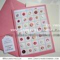 Marimerveille carte planche boutons vintage