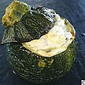 Courgettes farcies ricotta/menthe