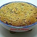 Clafoutis aux aubergines et saucisses ... knackis !!!
