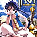 Magi : The Labyrinth of Magic. 1