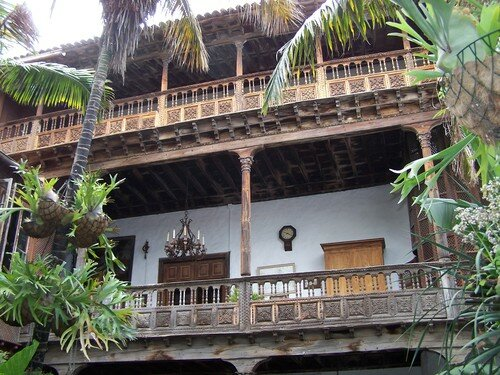 La Orotava-casa de los balcones-patio intérieur 2