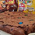 brownies m&m's lion