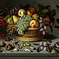 <b>Ambrosius</b> <b>Bosschaert</b> <b>the</b> <b>Younger</b>, 1609 - 1645, Fruit still life with mussels and insects