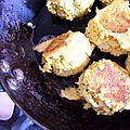 Boulettes poulet, aneth, curcuma