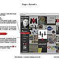 Devoir 2 - conception graphique de sites web