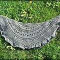 Summer flies shawl by Donna griffin