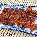 Tomates rôties au gingembre et à la sauge