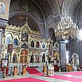 Cathédrale orthodoxe Uspensky - Mur d'icônes
