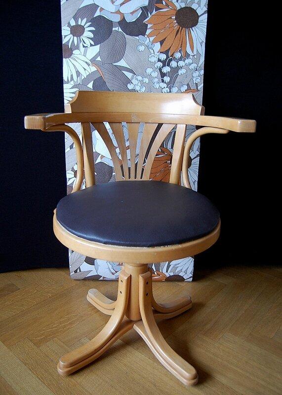 07 fauteuil de bureau vintage