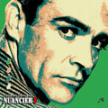 Nuancier pop'art F, Sean Connery