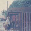 St Barth : boutique de maillots de bains en 1976 !