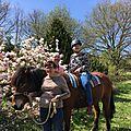 Sortie équestre mensuelle avec l'association cheval bonheur