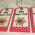 Noël : les étiquettes cadeaux, on aime ! ...