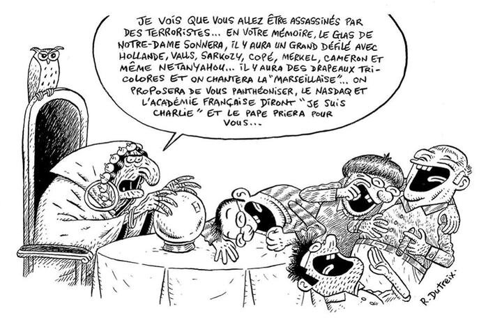 charlie hebdo humour ps hollande bobo tiers mondiste gauchiste