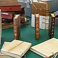Visite des ateliers de restauration des Archives nationales