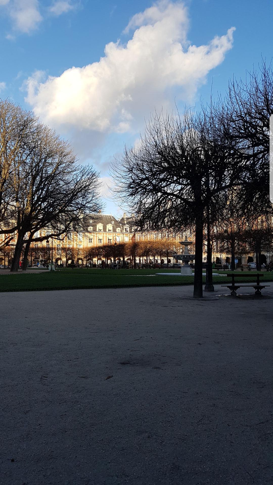 La jolie place des Vosges