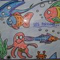 65- Toujours de beaux dessins sur le thème des poissons.
