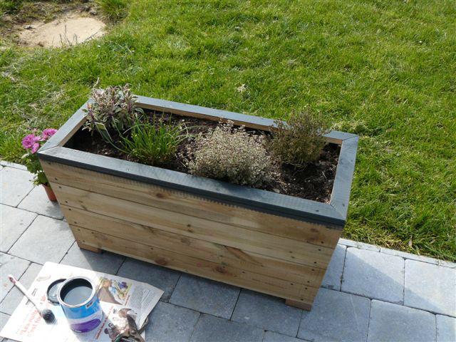escalier et terrasse pierre et bois mon beau jardin. Black Bedroom Furniture Sets. Home Design Ideas