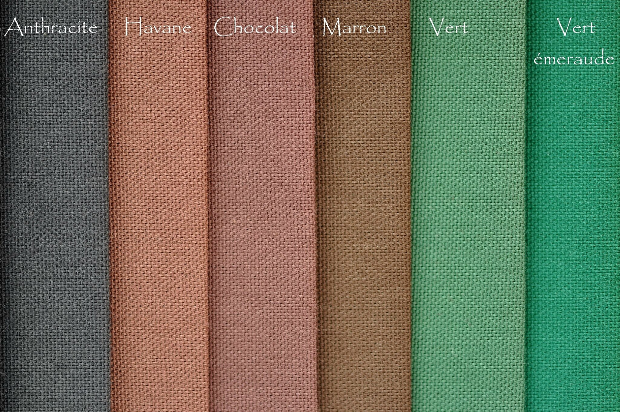 anthracite-havane-chocolat-marron-vert-vert-emeraude