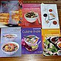 Mes <b>livres</b> de <b>cuisine</b>