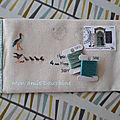 <b>Art</b> <b>postal</b> : quand la broderie voyage