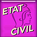 ÉTAT-CIVIL