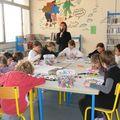 2011/01- l'atelier de création de l'école BLANCHE DE CASTILLE