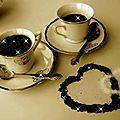 Il y a toujours de la place pour un café à partager ....