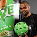Basket :<b>Tony</b> <b>Parker</b> prend les rênes de l'Asvel pour