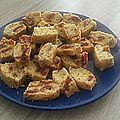 Mini cakes tomates sechees