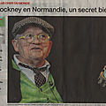 David Hockney le peintre le plus cher du monde s'installe en <b>Normandie</b> mais... pas dans le <b>trou</b> <b>normand</b>!