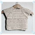 Layette- pull telle fille