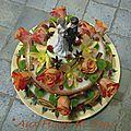 Gâteau d' Anniversaire de Mariage