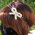 head band -bijou de cheveux- Mireille