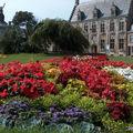 superbe massif réalisé par les jardiniers de la Ville