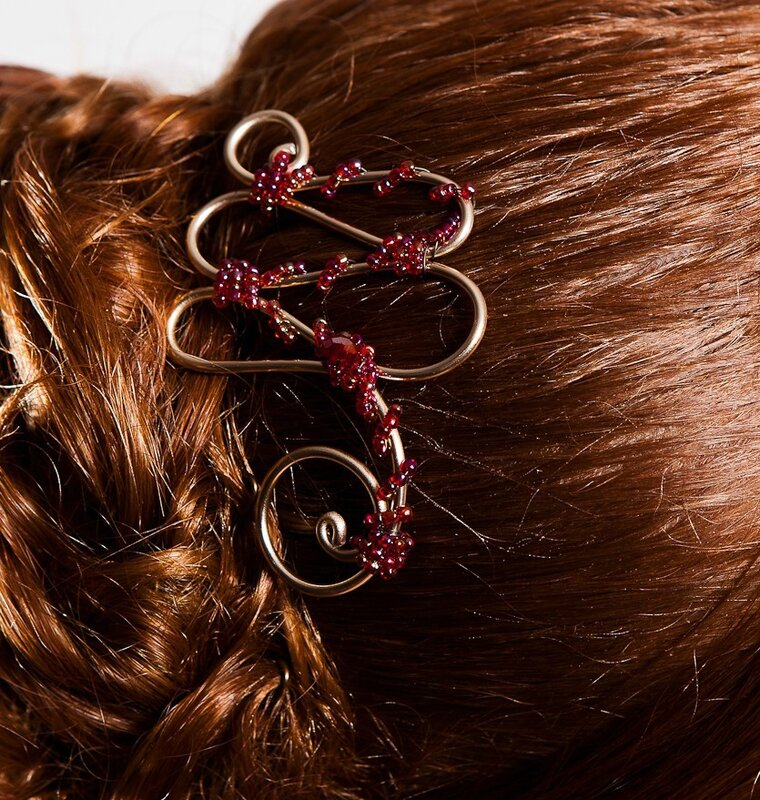Bijoux cheveux LONA