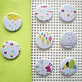 Nouvelle collection de badges