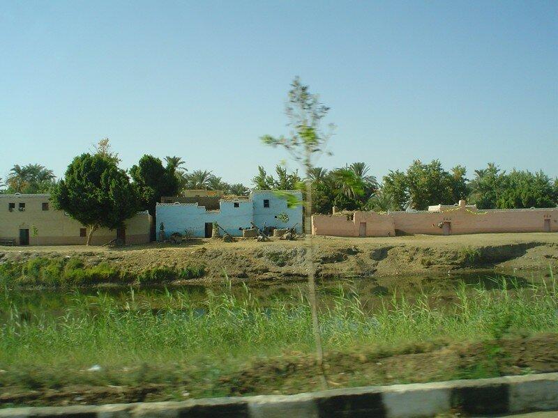 village près du Nil