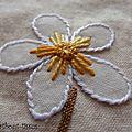 Bloc 8 fleurs détails