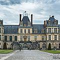 Le château de fontainebleau, coté nature.