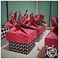 Boites invités en origami {damimo}