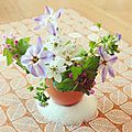 Mini bouquets de pâques