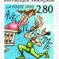 Thiriet déclare sa flamme à La Poste (1993)