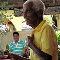 Vieux Kristang au bistrot (Malaka)