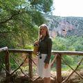 Monastère de Piedra-mirador de Pie Cola de Caballo et moi