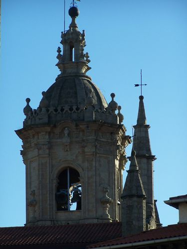 Hondarribia-clocher de l'église