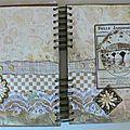 Des pages de mon art journal
