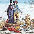 Le 24 octobre <b>1789</b> à Bonnétable : Refus de payer les droits d'aides.