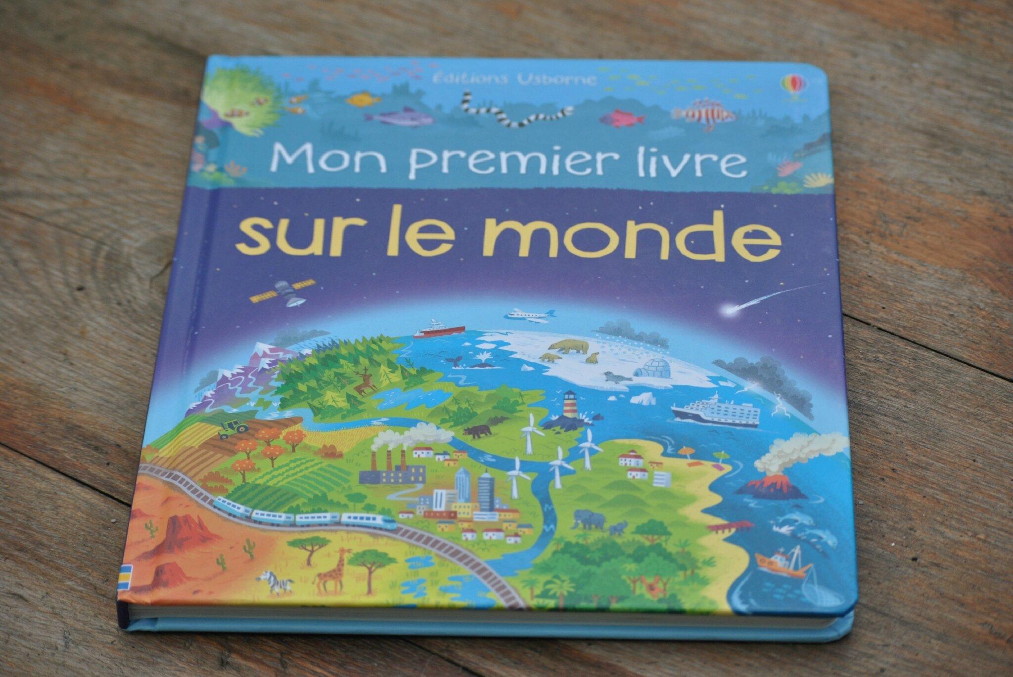 Mon premier livre sur le Monde des Éditions Usborne